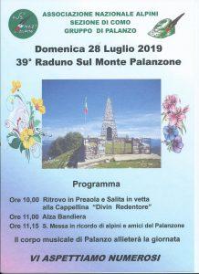 locandina palanzone 2019