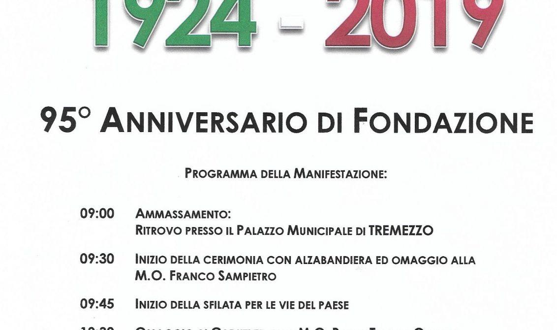 gruppo di tremezzo - 95° di fondazione